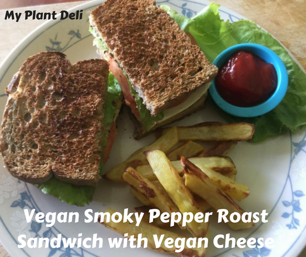 Vegan Smoky Pepper Roast