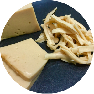 Vegan Cashew Cheddar Cheese Block - Low Fat, No Oil