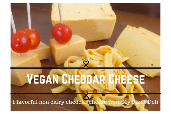 Vegan Cheddar Cheese Block