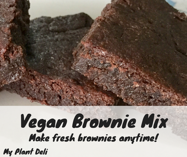 Vegan Fudgy Brownie Mix