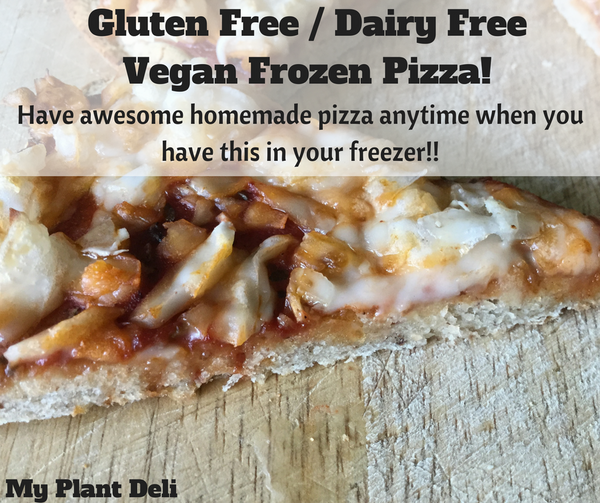 Gluten Free Vegan Frozen Pizza - Spicy 3 Cheese