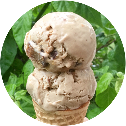 Vegan Coffee Toffee Ice Cream