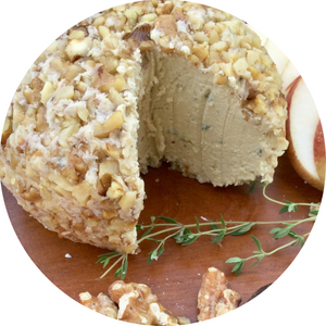 Vegan Garlic Herb Cheese Ball