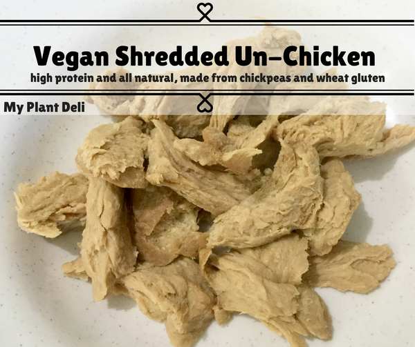 Vegan Shredded Un-Chicken