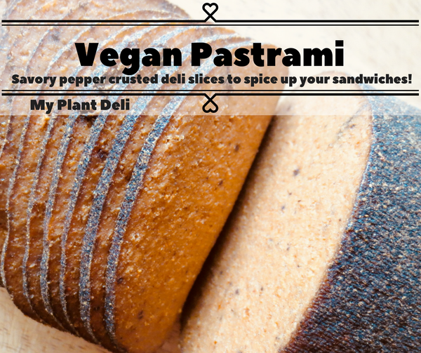 Vegan Pastrami Deli Slices