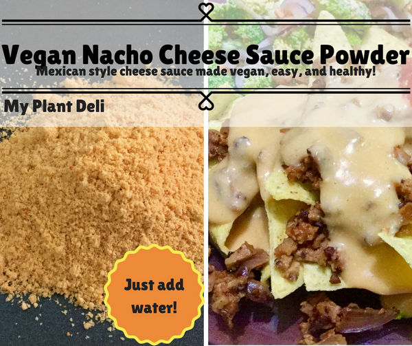 Vegan Nacho Cheese Sauce Powder