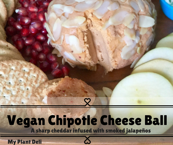 Vegan Chipotle Cheese Ball