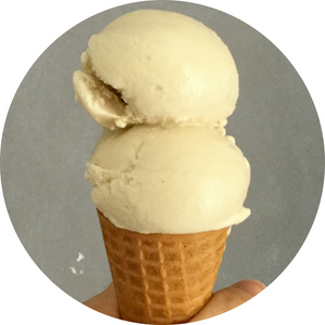 Vegan Butterscotch Ice Cream