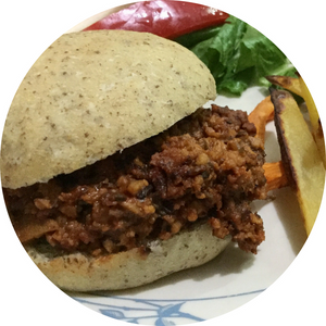 Vegan Sloppy Joe Sandwich Filling