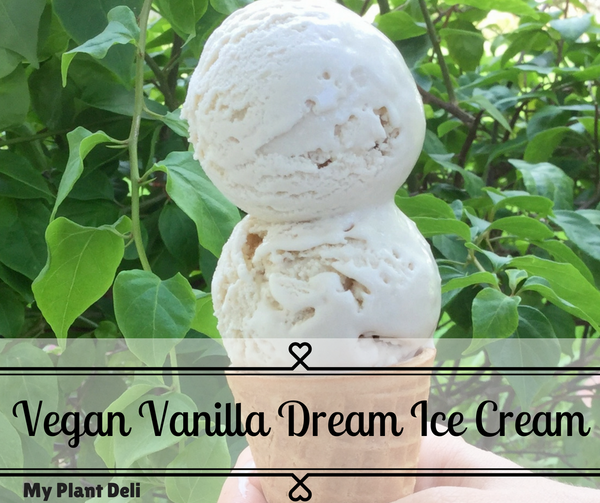 Vegan Vanilla Dream Ice Cream 1 L tub