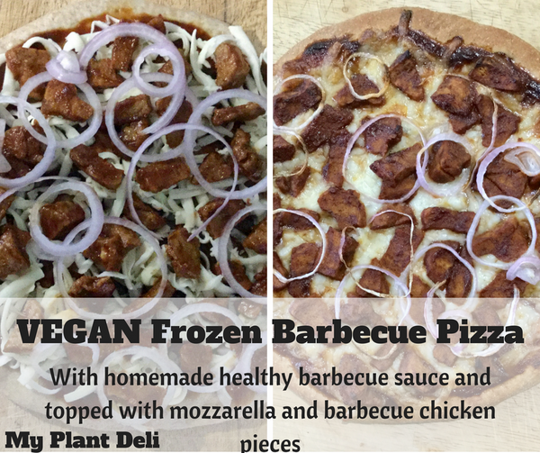 Vegan Frozen Pizza - Barbecue