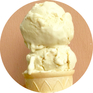 Vegan Ginger Lemon Ice Cream