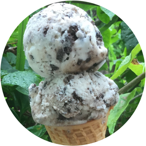 Vegan Cookies and Cream Ice Cream