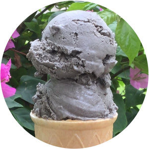 Vegan Black Sesame Ice Cream
