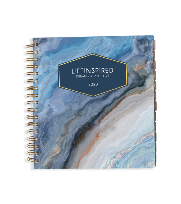 2020 Planner: Blue Agate