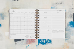 2019 Planner: Marble