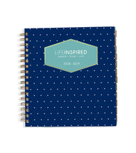 Academic 2018-19 Planner: Navy Dots
