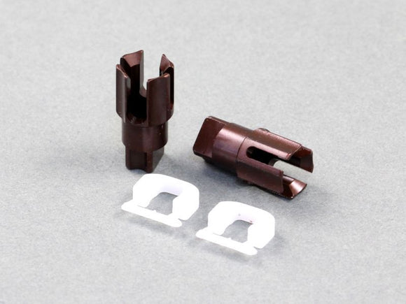 O10160 RX-10S Spring Steel Front Spool Cup with C-Blade, 2 pcs