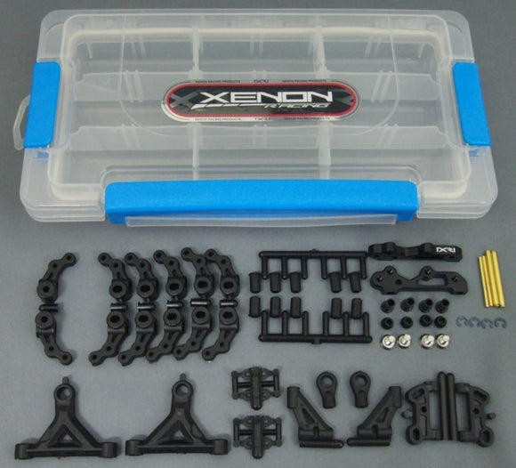 OPT-0060 Black VSS front end set for Kyosho/Speed Merchant/Associated L4/CRC compatible