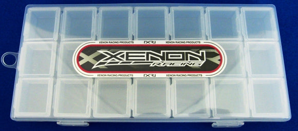 BOX-1003C Xenon Small plastic case Set (Clear)