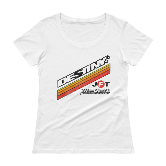 Ladies' DESTINY USA 2018-2019 Scoopneck T-Shirt