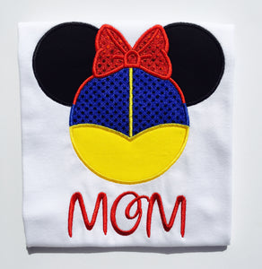 Mickey Mouse Snow White T Shirt Or Bodysuit Kids And Adults