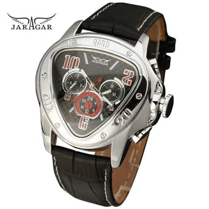 Jaragar T-Winner Luxury Men's Triangle Mechanical Watch