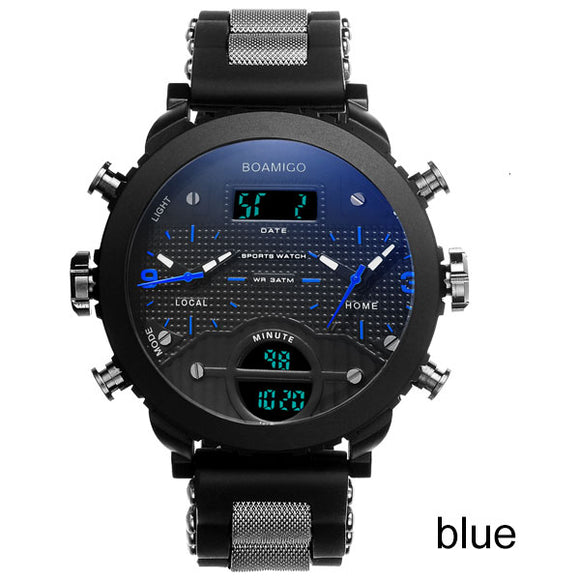 BOAMIGO LED Digital Sports Watch