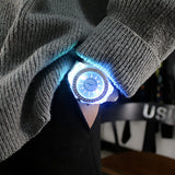 Light-Up LED Silicone Watch
