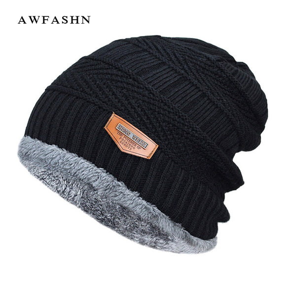 Thick/Soft Wool Cap - 12 Colors