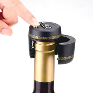 Wine Password Lock Lock Wine Stopper