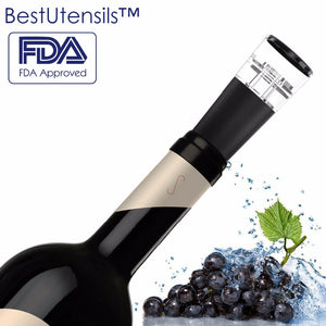 Best Utensils New All in one Wine vacuum pump Bottle Stopper