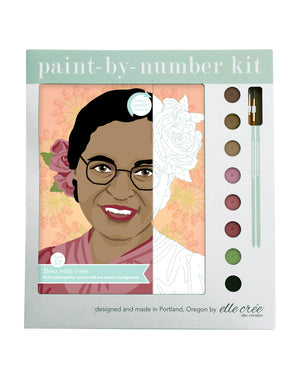 Rosa with Roses Paint-by-Number Kit