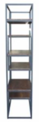 New York Multi Level Bookcase - Coffee Bean