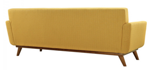 Annabelle Upholstered Sofa - Warm Yellow