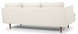 "84"" Wide Recessed Arm Sofa"