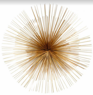 Starburst Wall Decor (Gold)