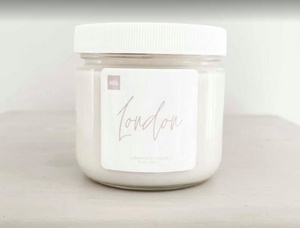 Pure Soy Candle  12 oz  Vanilla Scent