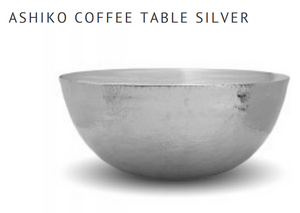 Ashiko Coffee Table Silver