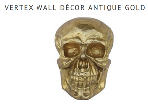 Vertex Wall Decor Antique Gold
