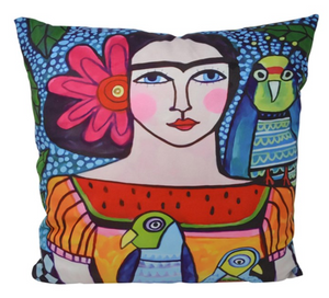 Frida Cushion  45 by 45