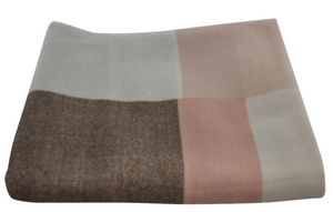 Pink Throw  130 by 160 cm