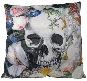 Cushion Skull  45 by 45 cm