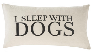 Sleep With Dog Cushion  21 by 12