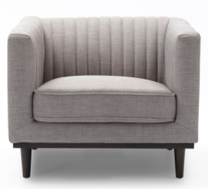 SAGE CLUB CHAIR - LIGHT GREY