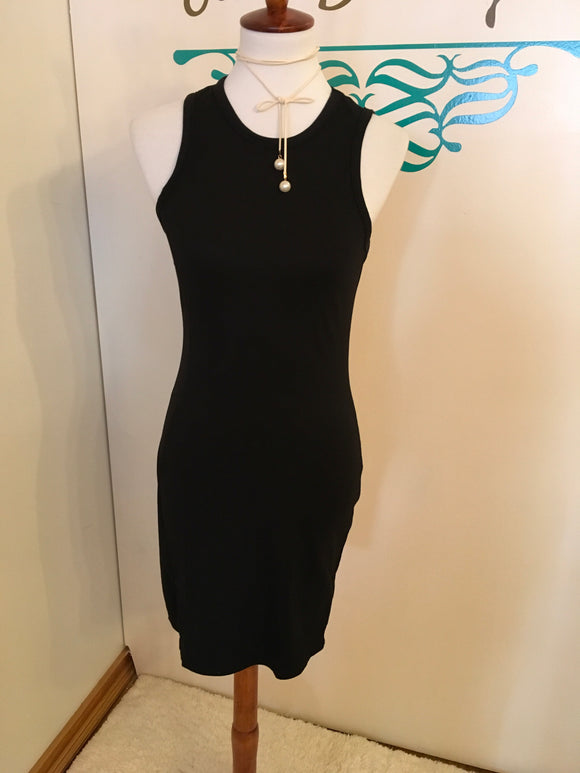 Bodycon dress blk