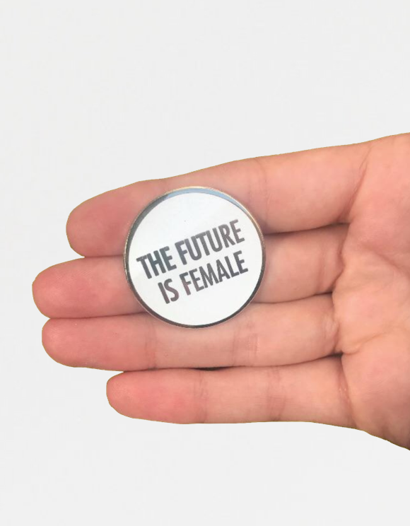Future is Female Pin