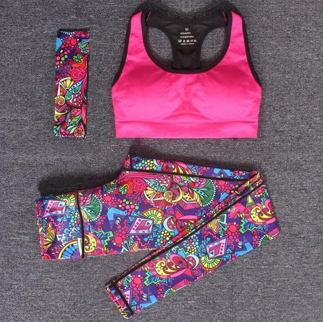 Running/Yoga set quick dry material
