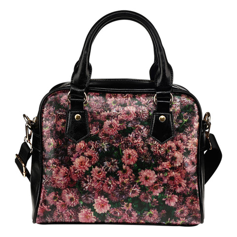 Flowers Everywhere Floral Handbag