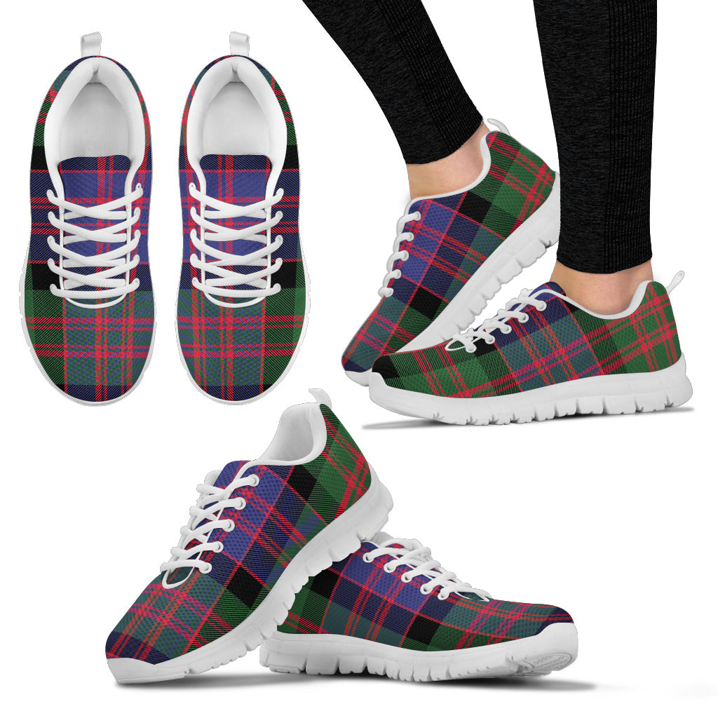 Clan MacDonald Tartan Sneakers / Trainers